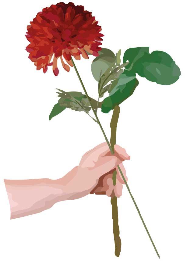 Saadan-binder-buket-blomster-egen-have-trin-2