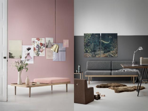 Forskellige Enkel indretning i stuen med nordisk touch | Boligjournalen UR13