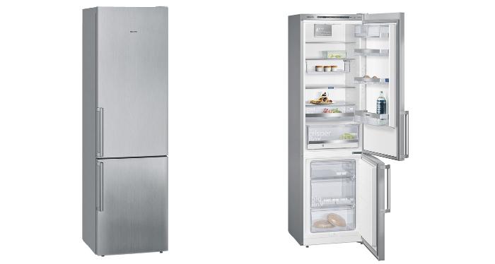 køleskab rustfrit stål