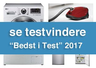 tørre vaskemaskine test